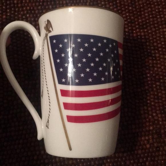 Lenox Kitchen American Flag Coffee Mug Poshmark